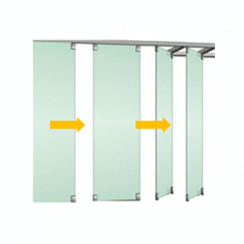 Tabique m vil vidrio 1 isae ingenier a de accesos s l - Tabiques divisorios moviles ...