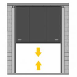 Puerta de guillotina