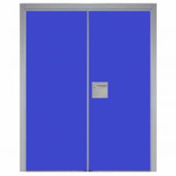 Puerta técnica 2 hojas