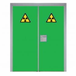 Puerta técnica 2 hojas rayos X