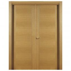 Puerta madera cortafuegos 2 hojas