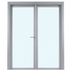 Puerta cortafuegos vidrio 2 hojas
